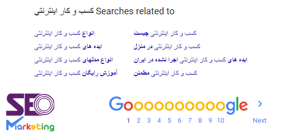 پیشنهادات کلمات کلیدی گوگل