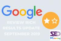 دلایل عدم نمایش ستاره امتیازات در نتایج گوگل چیست؟