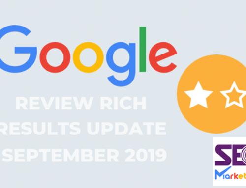 بروزرسانی قوانین گوگل برای نمایش نتایج جستجوی Review Rich